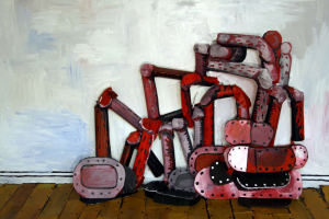 The Floor (After Guston) 2008